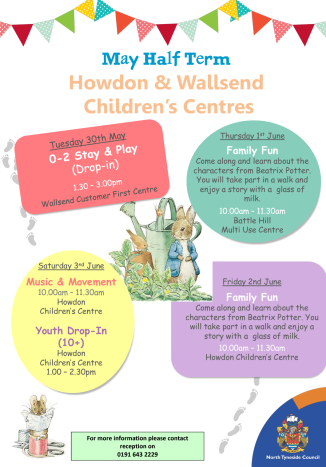 May Half Term Howdon
